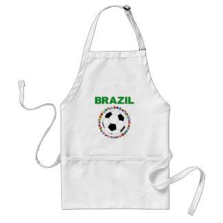 Brazil Soccer 2214 Aprons