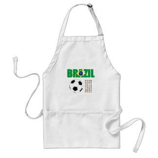 Brazil Soccer 2801 Aprons
