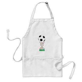 Brazil Soccer 3024 Aprons