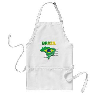 Brazil Soccer 3307 Aprons