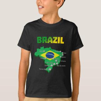 Brazil Soccer  3307 T-Shirt