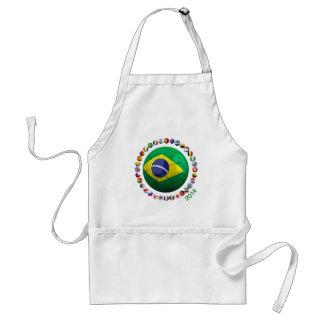 Brazil Soccer Apron