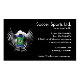 Brazil Soccer Champions Pack Of Standard Business Cards