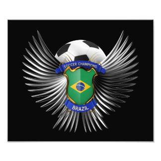 Brazil Soccer Champions Photo