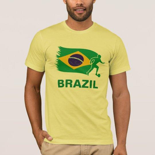 Brazil Soccer Flag T-Shirt