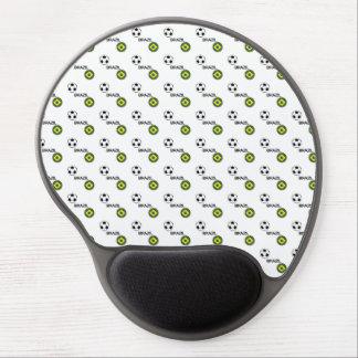 Brazil Soccer Gel Mouse Pad