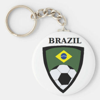 Brazil Soccer Key Ring