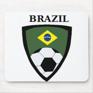 Brazil Soccer Mouse Pad