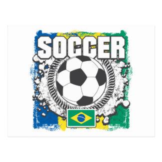 Brazil Soccer Postcard