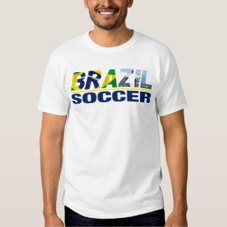 Brazil Soccer White T shirt