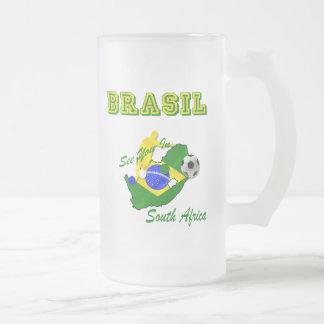 Brazil South Africa Qualifies Brasil T Mug