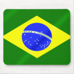 Brazil Summer Games Brazilian flag Mouse Pad