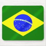 Brazil Summer Games Brazilian flag Mouse Pad
