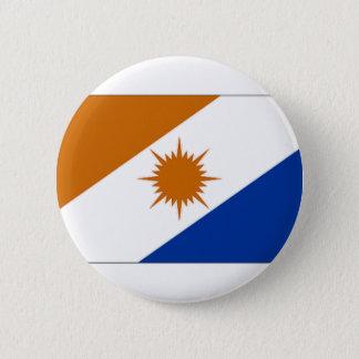 Brazil Tocantins Flag 6 Cm Round Badge