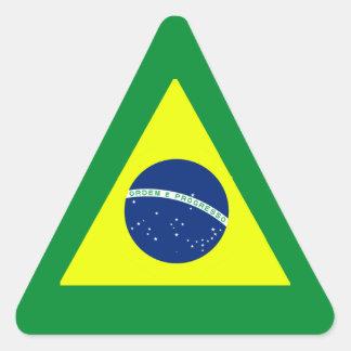 BRAZIL TRIANGLE STICKER