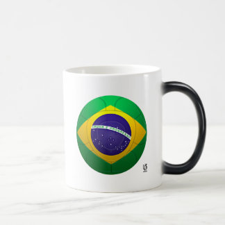 Brazil - Verde Amarela Football Magic Mug