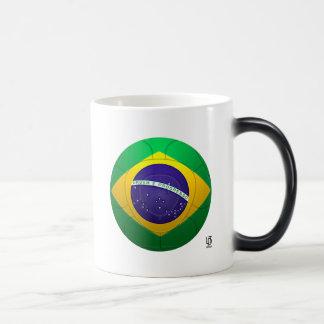 Brazil - Verde Amarela Football Morphing Mug