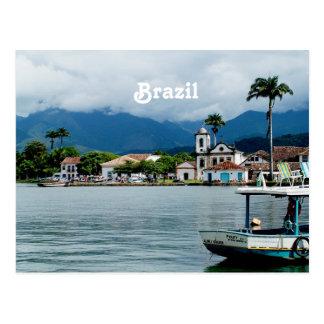 Brazil Village Postcard