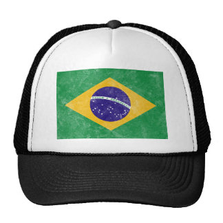 Brazil Vintage Flag Cap