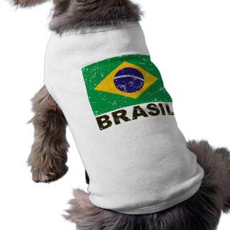 Brazil Vintage Flag Shirt
