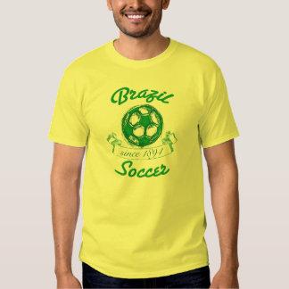 Brazil Vintage Soccer Tees