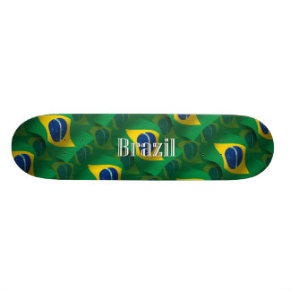 Brazil Waving Flag Skateboards
