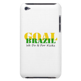 Brazil - We Do It For Kicks Case-Mate iPod Touch Case