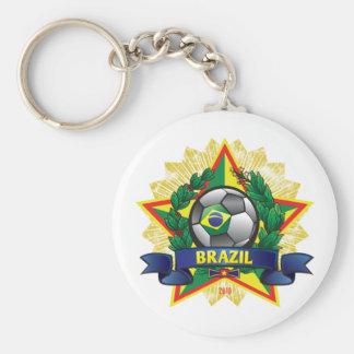 Brazil World Cup Soccer Key Chains