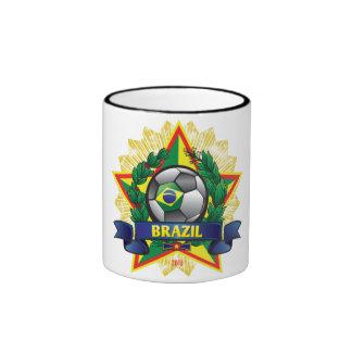 Brazil World Cup Soccer Mug