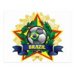 Brazil World Cup Soccer Postcard