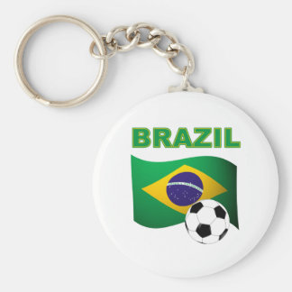 Brazil World Cup T-Shirt Flag Key Chain