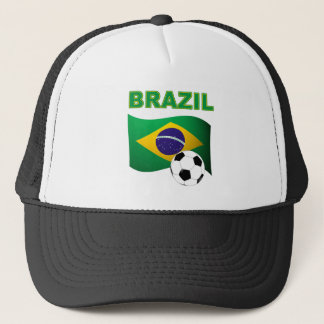 Brazil World Cup T-Shirt Flag Trucker Hat