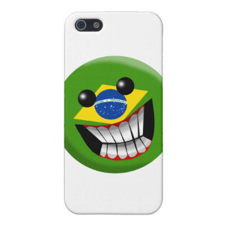 Brazilia Smiley iPhone 5/5S Covers
