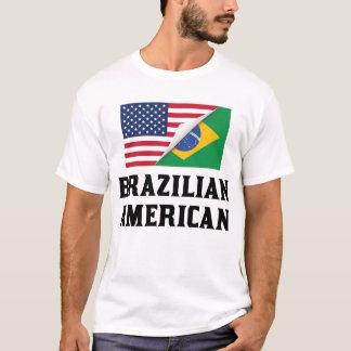 Brazilian American Flag T-Shirt