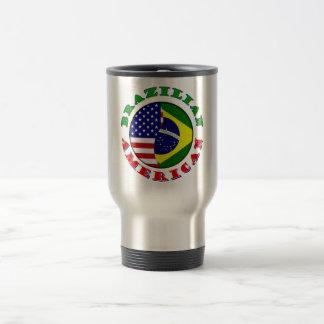 brazilian american travel mug