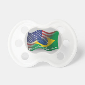 Brazilian-American Waving Flag Dummy