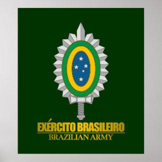 Brazilian Army Emblem Print