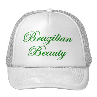 Brazilian Beauty Trucker Hat