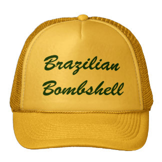 Brazilian Bombshell Trucker Hats