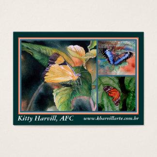 Brazilian Butterflies - Business Cards