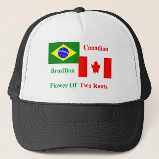 Brazilian Canadian Trucker Hat