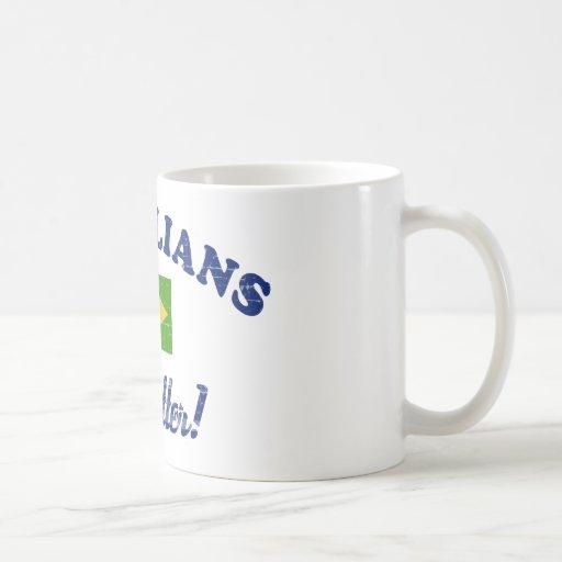 Brazilian do it better coffee mugs