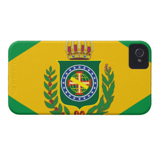 Brazilian Empire flag Blackberry phone case Case-Mate iPhone 4 Case