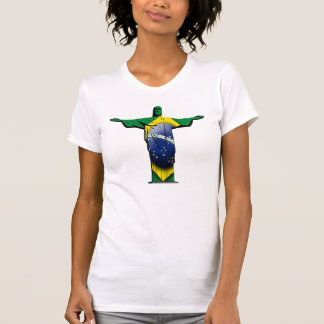 Brazilian Flag Christ the Redeemer T-Shirt