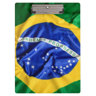 Brazilian flag Clipboard