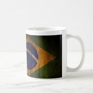 Brazilian flag. coffee mug