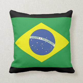 Brazilian Flag Cushion