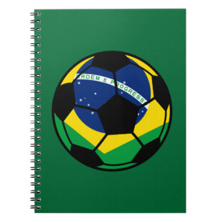 Brazilian Flag Football Notebook
