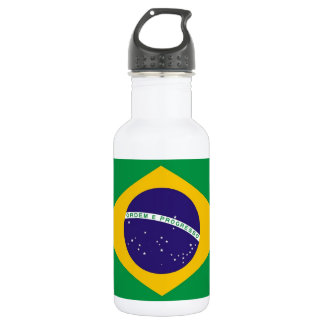 Brazilian Flag Liberty Bottle 532 Ml Water Bottle