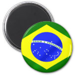 Brazilian flag of Brazil gifts and tees Magnets